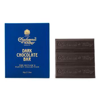 Charbonnel et Walker Dark Chocolate Bar 80g
