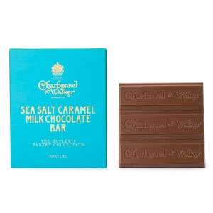 Charbonnel et Walker Milk Sea Salt Caramel Chocolate Bar 80g