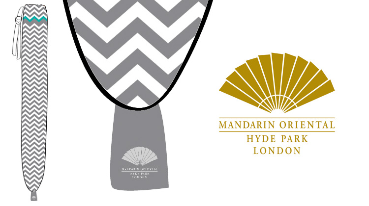 The Mandarin Oriental Bespoke Bottle Design